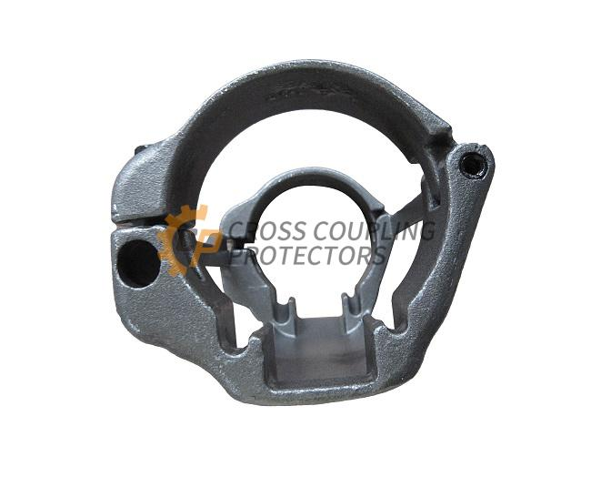 """4-1/2 inch Cross Coupling Cable Protector designed to straddle EUE coupling. To support and protect Flatpack Cables # 6 and 3/8"""" & 1/4"""" capillary line.(2)"""