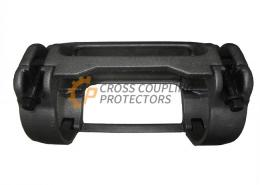 """4-1/2 inch All Cast Cross Coupling Protector designed to straddle Tenaris Blue coupling. To support and protect Flatpack Cables #2 & #4 and 0.375"""" & 0.25"""" capillary line (4)"""