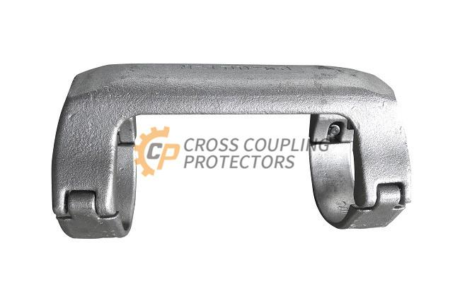 5-1/2 inch All Cast Cross Coupling Protector designed to straddle LTC coupling for Falt cable #4 (5)